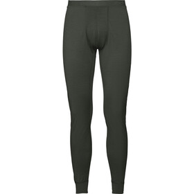 Odlo SUW Natural 100% Merino Warm Bottom Pants Men climbing ivy
